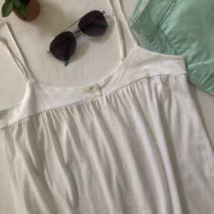 GAP white camisole tank small